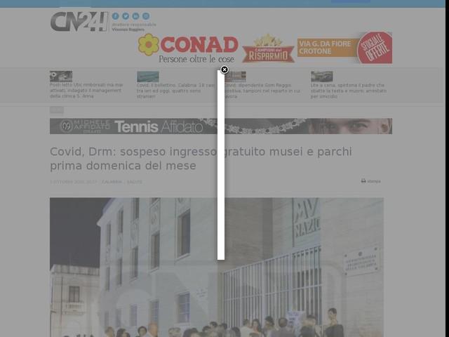 Covid, Drm: sospeso ingresso gratuito musei e parchi prima domenica del mese