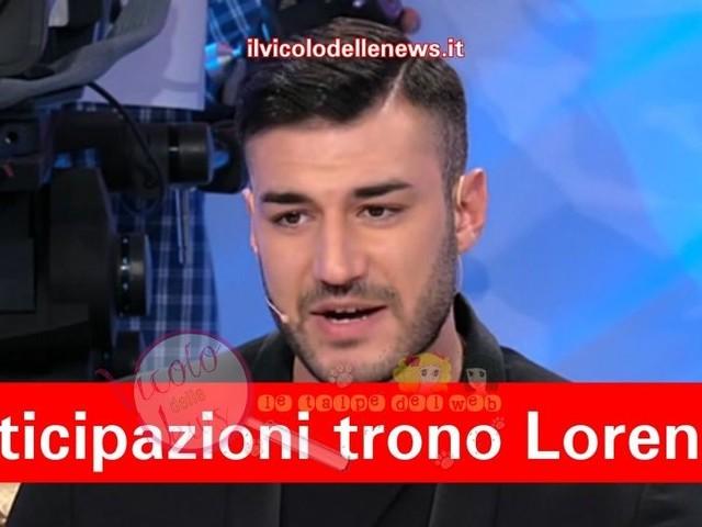 Anticipazioni Uomini e Donne – trono di Lorenzo Riccardi: la bat-talpa aggiunge succosi dettagli alla registrazione del 07.12.18