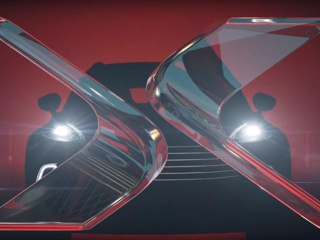 Aston Martin - Il teaser frontale della DBX