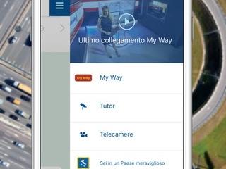 MY WAY l'App ufficiale gratuita di Autostrade per l'Italia l'app si aggiorna alla vers 2.1.7