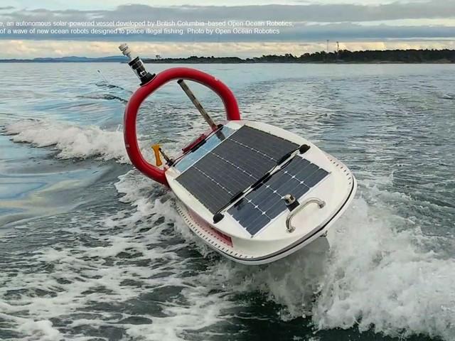Navi robot per proteggere le Aree marine protette dai pirati del mare