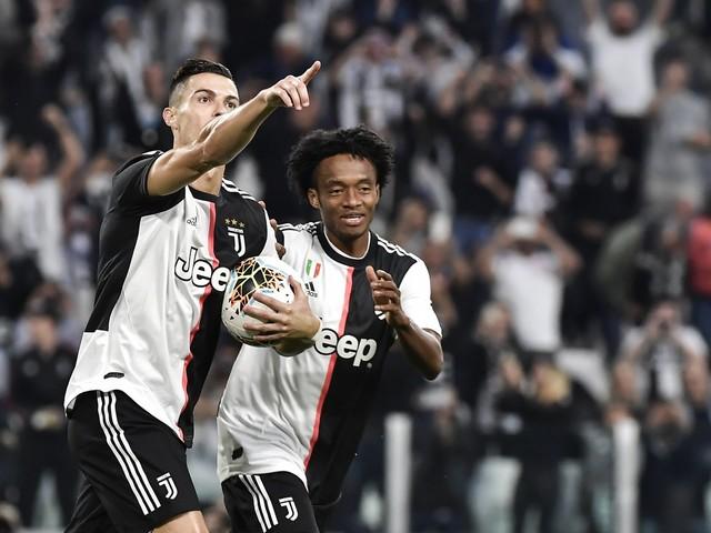 La Juventus ribalta il Verona: sofferto 2-1 e primato in classifica
