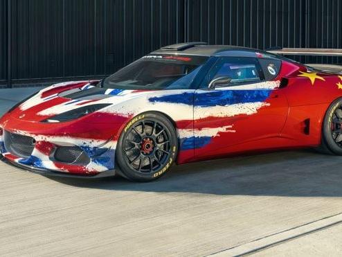 Lotus Evora GT4 Concept: novità racing al Salone di Shanghai