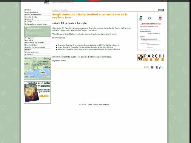 PR Antola - Borghi Autentici d'Italia: territori e comunità che ce la vogliono fare