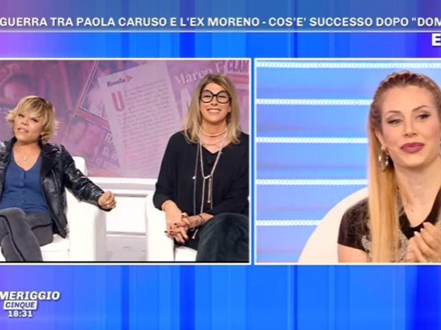 Floriana Secondi, minacce dai fan di Paola Caruso: interviene Moreno