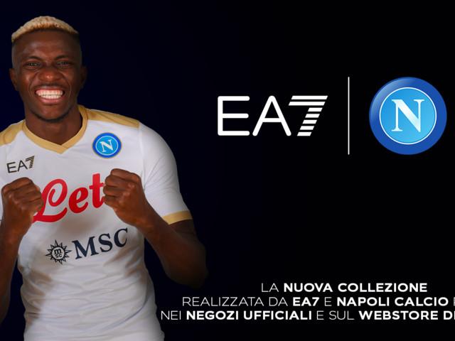 Da domani 18 settembre in vendita la collezione EA7 della SSC Napoli