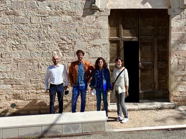 Consegnati a Giano i lavori per il recupero della chiesa di San Francesco