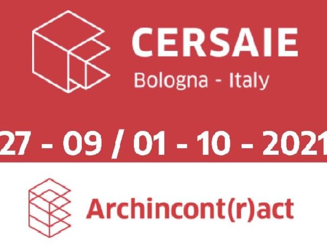 A Cersaie, Archincont(r)act con 10 importanti studi di architettura italiani ed europei