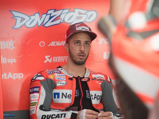 """MotoGP, Dovizioso: """"Poco grip dietro, fatichiamo. Rabat? Non normale"""""""