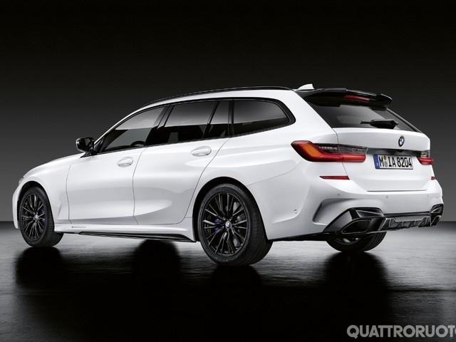 BMW Serie 3 - Le M Performance Parts arrivano anche sulla Touring