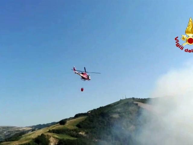 Incendi nei boschi, la Protezione Civile a 'lezione' dai Vigili del Fuoco