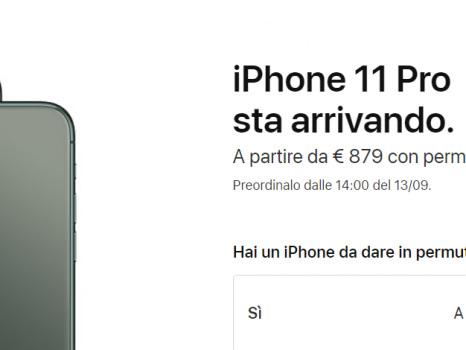 Per comprare i nuovi iPhone 11 quanto valgono i vecchi melafonini? La permuta ufficiale