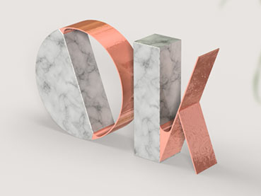 How to Create a Trendy Marble and Rose Gold Text Effect in Adobe Photoshop