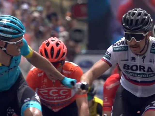 Tour Down Under: Viviani all'attacco, prima vittoria di Sagan nella terza tappa