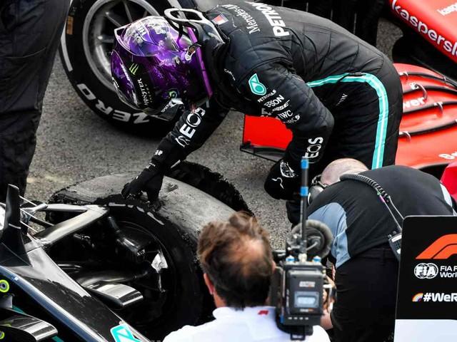La Pirelli spiega perché Hamilton ha chiuso la gara su tre ruote