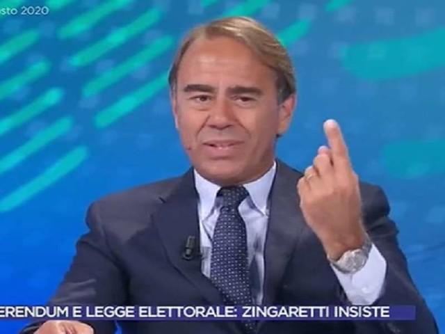 """Andrea Cangini vs Tg1/ """"Censurato sul referendum: tagliata frase su Di Maio che..."""""""
