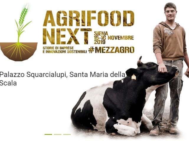 Agrifood Next a Siena il 15 e 16 novembre