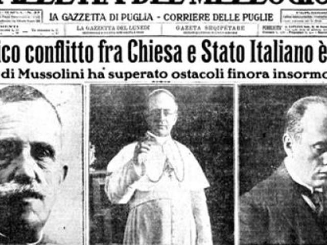 Patti Lateranensi: la ferma volontà di Pio XI