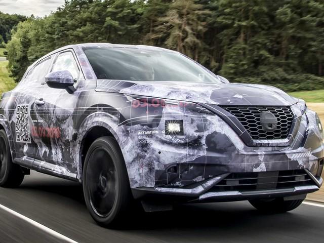 Nissan Juke: ecco le prime immagini spia