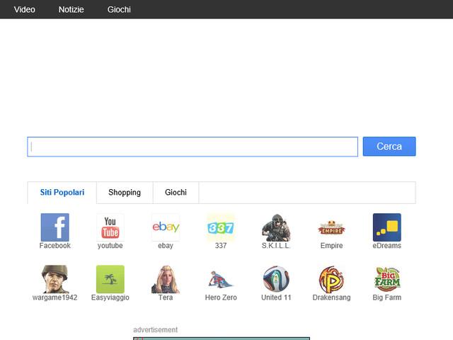 Come rimuovere istartsurf da pagina iniziale Chrome, Firefox e Internet Explorer