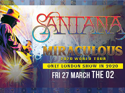 Carlos Santana - The O2 Arena