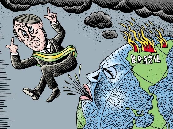 Bolsonaro cerca di vendere all'Onu l'immagine di un Brasile che non esiste (VIDEO)