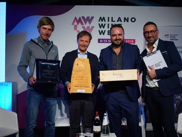 Il Nino Negri Special Award chiude la Milano Wine Week 2019