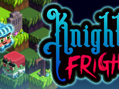 Knight Fright – Qbert incontra Ghosts 'n Goblins!!