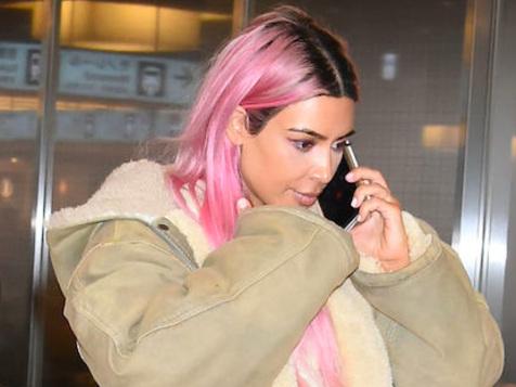 Anche Kim Kardashian si è tinta i capelli di rosa