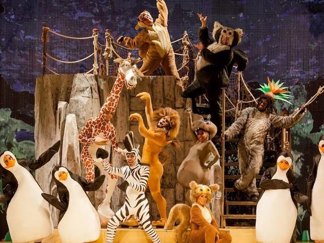 Madagascar, il musical, arriva al teatro Brancaccio, dal 12 dicembre 2017