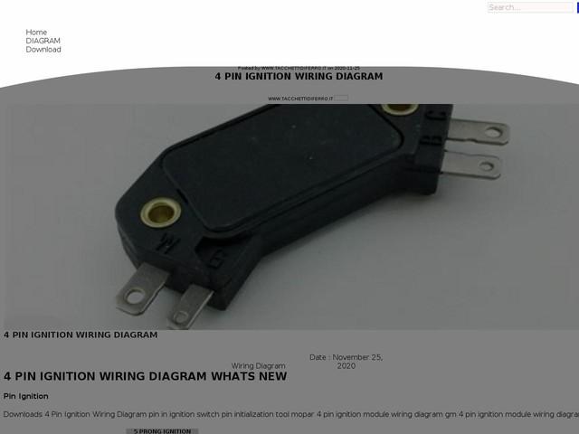 Pin Ignition Wiring Diagram
