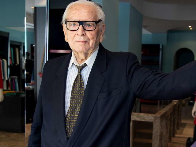 Parigi, è morto lo stilista Pierre Cardin