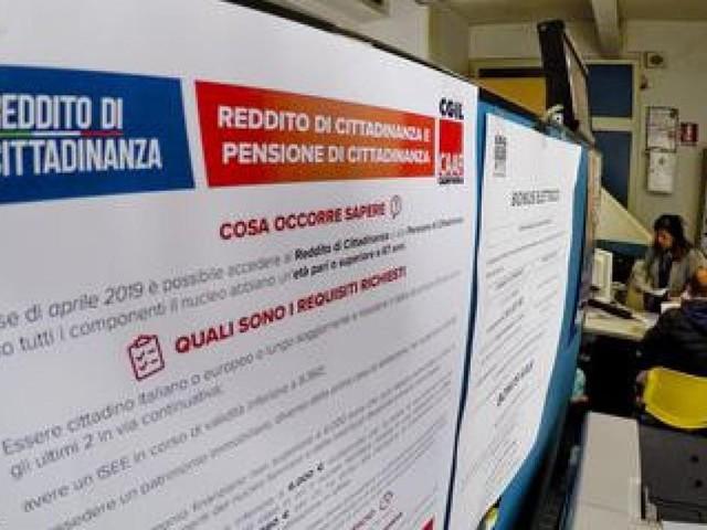 DATI INPS - Nelle Marche 11.782 domande accettate per il reddito di cittadinanza: accolto il 60% delle richieste