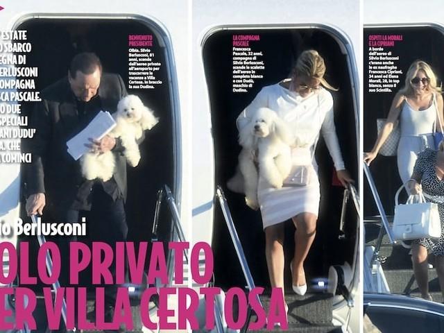 Silvio Berlusconi porta in vacanza Francesca Cipriani e Elena Morali
