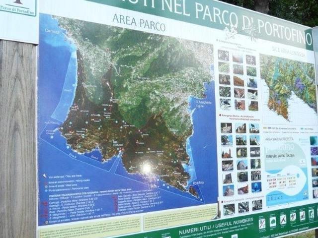 Parco di Portofino, troppi infortuni, appello ad utilizzare la app