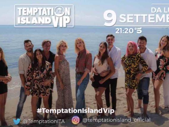 Replica Temptation Island Vip 2019, streaming e TV: ecco come vedere la prima puntata