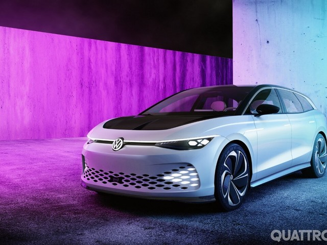 Volkswagen ID. Space Vizzion - La wagon elettrica arriverà in Europa