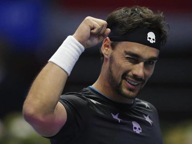 Tennis, a San Pietroburgo Fognini in finale: battuto in tre set Bautista-Agut