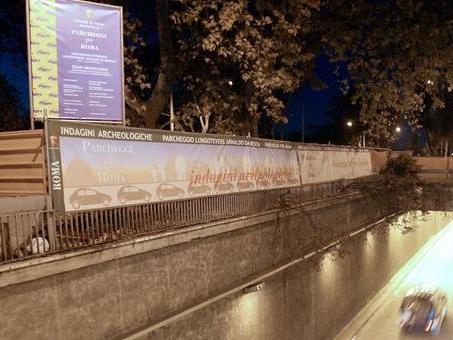 Roma, parcheggio sul Lungotevere Arnaldo da Brescia: il Comune dà il via libera alla realizzazione