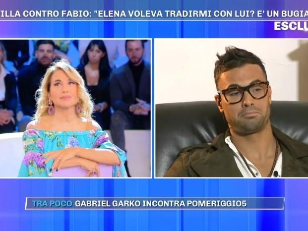 """Fabio Rondinelli: """"Elena Morali mi ha baciato, ma non sono stato il suo amante"""""""