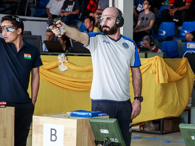 Tiro a segno, Europei 10 metri Osijek 2019: Italia d'oro nel team event di pistola maschile! Ucraina sconfitta in finale
