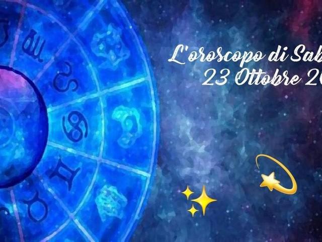 L'oroscopo di sabato 23 ottobre: Sagittario sottotono, Ariete diverso dal solito