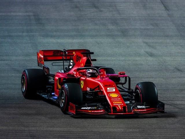 F.1, GP Singapore - Doppietta della Ferrari: vince Vettel