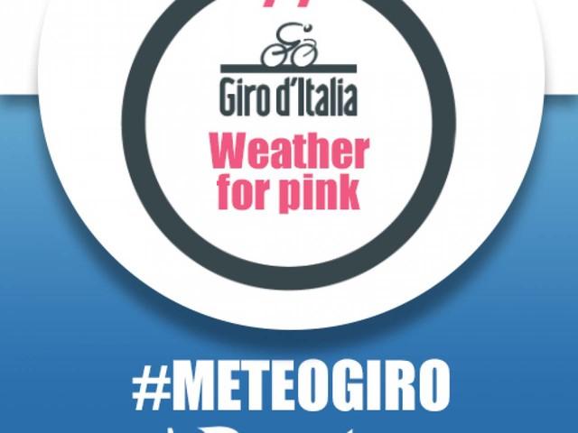 METEO GIRO D'ITALIA 2018 - 10° tappa, martedì 15 maggio: Penne - Gualdo Tadino