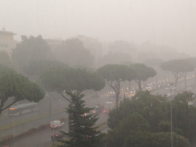 Meteo Roma, violenti temporali in arrivo nelle prossime ore