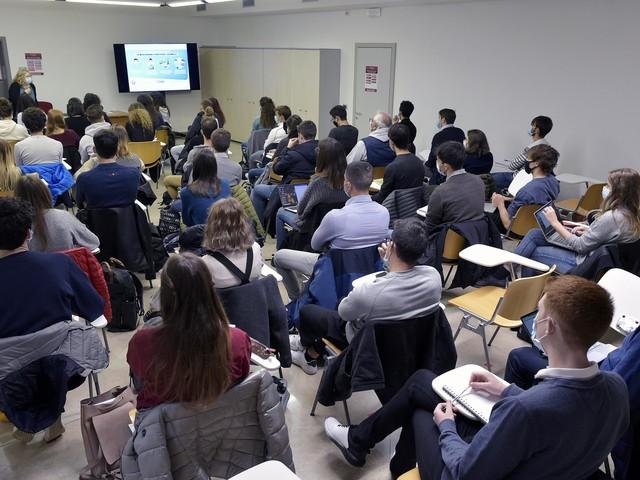 Primo giorno di lezione per i futuri medici made in Trentino