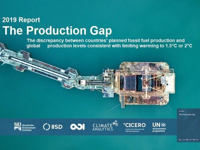 Il gap dei combustibili fossili: ne produciamo molti di più di quanto servirebbe per mantenere il riscaldamento a 1,5 – 2° C (VIDEO)