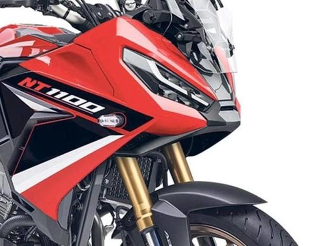 Honda: presto la nuova sport tourer NT1100. Due versioni su base Africa Twin