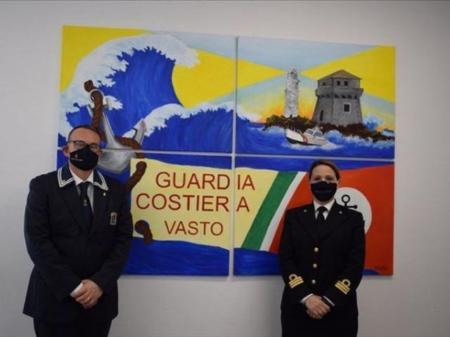 """La """"Giornata del mare"""" celebrata a Vasto dall'ANMI e dalla Guardia Costiera"""
