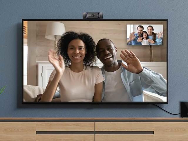 Fire TV Cube, videochiamate con webcam USB